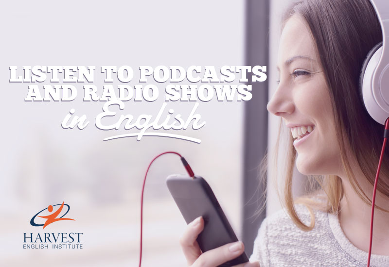 listen to podcasts in english